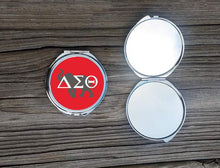 Load image into Gallery viewer, Delta Sigma Theta Compact Mirror