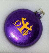 Load image into Gallery viewer, Omega Psi Phi Christmas Ornament