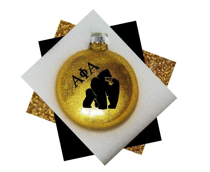 Alpha Phi Alpha Christmas Ornament