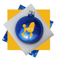 Load image into Gallery viewer, Sigma Gamma Rho Christmas Ornament