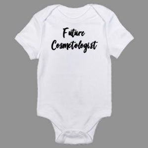 Future Makeup Artist Baby Body Suit