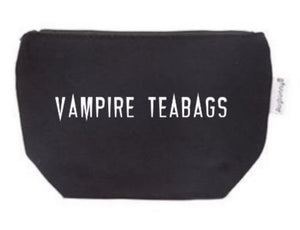 Vampire Teabags Tampon Pouch with Free Gift | Period Bag