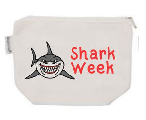 Shark Week Tampon Pouch with Free Gift | Period Bag