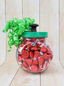 Teacher Candy Apple Jar