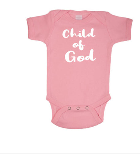 Child of God Baby Body Suit
