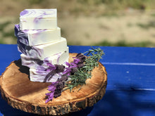 Load image into Gallery viewer, Lavender Handcrafted Soap