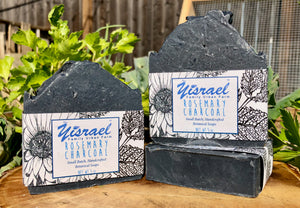 Rosemary + Charcoal Handcrafted Soap
