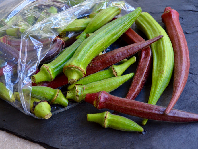 Okra - Red/Green