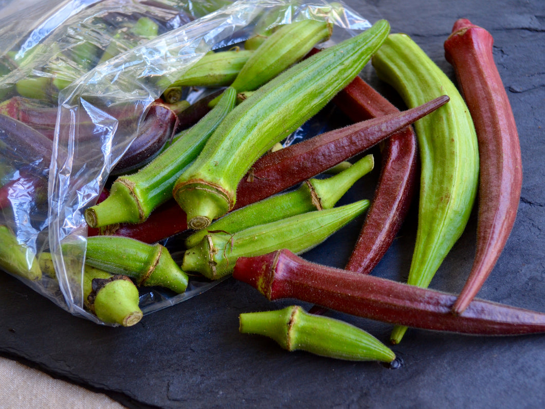 Okra - Green/Red