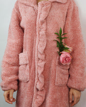 Load image into Gallery viewer, Strawberry Ruffle Robe