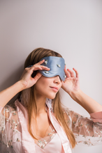 Load image into Gallery viewer, Sleeping Beauty - 100% Pure Mulberry Silk Momme Eye Mask