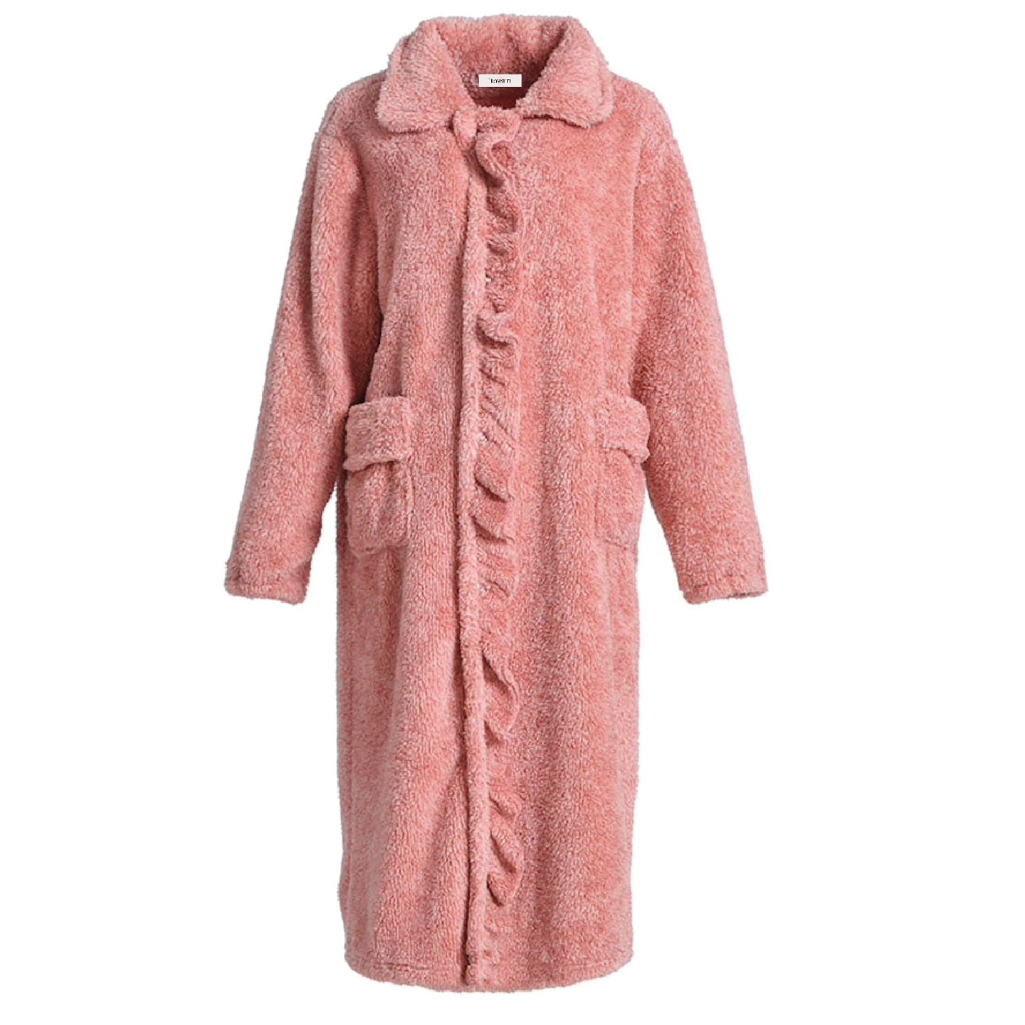 Strawberry Ruffle Robe