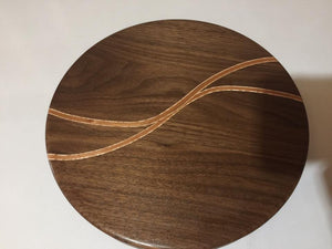 Segmented Lazy Susan - Robert H Woodworks