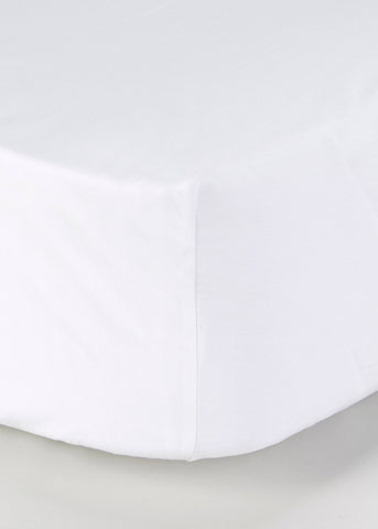 100% Cotton Fitted White K M230786