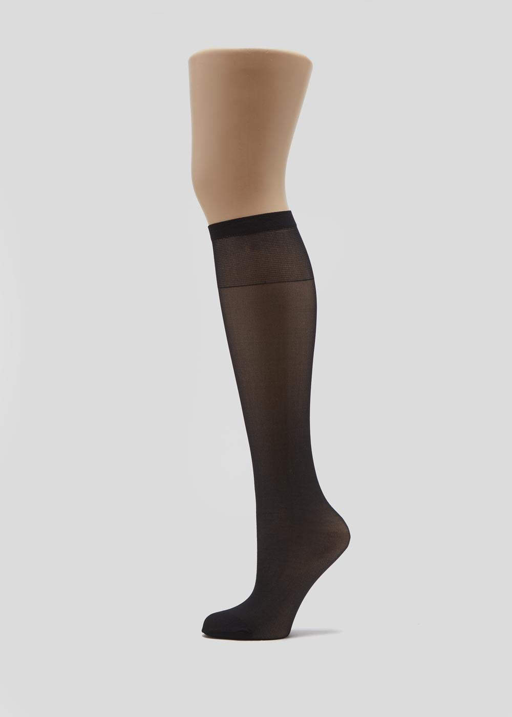 5 Pack 15 Denier Opaque Knee Highs F367706
