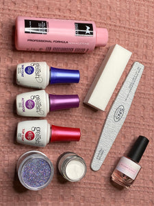 DIY SNS Kit - create your own nails