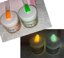 Load image into Gallery viewer, Glow in the Dark DIP POWDERS 23g