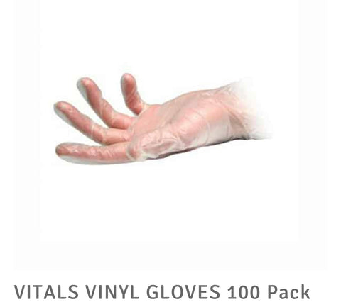 Powder free salon grade gloves box 100