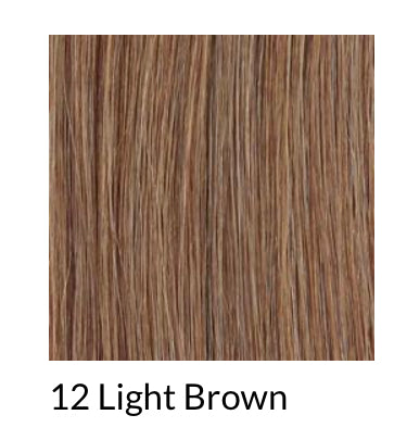 Hair Extensions Slimline Tapes colour 12 (light brown)