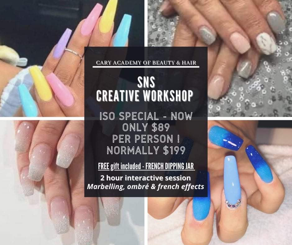 SNS Ombré Marbelling Workshop