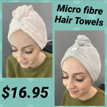 Load image into Gallery viewer, Microfibre Hair Towel