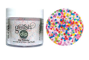 Gelish Dip Powder lots of dots