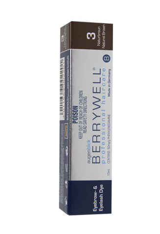 BerryWell Lash & Brow Tint Natural Brown