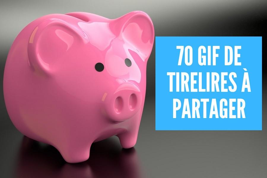 Plus de 70 Gif de tirelires pour animer vos publications
