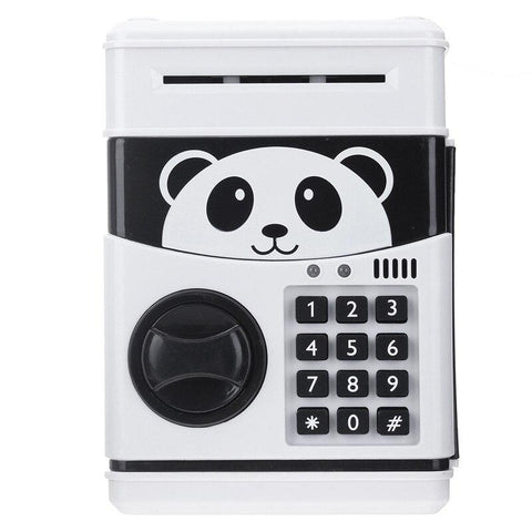 Tirelire Panda Automatique Blanche