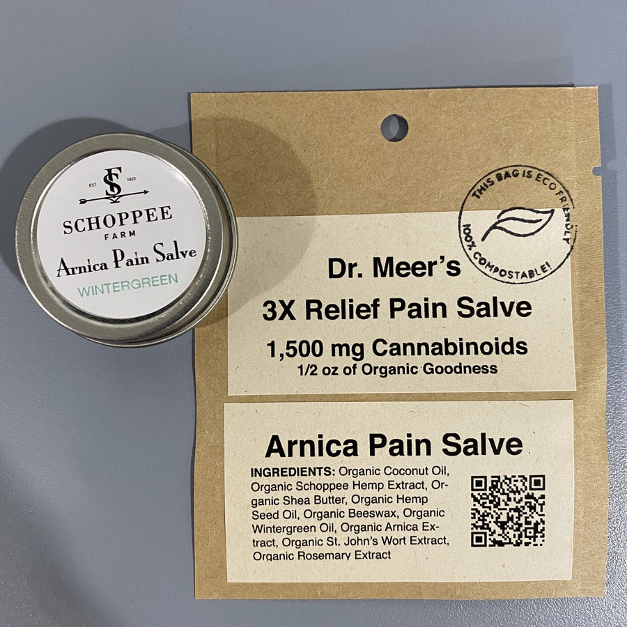 Dr. Meer's 3x Maximum Strength Super Pain Relief Salve • Full Spectrum