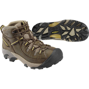 KEEN-mens-targhee-ii-waterproof-mid-hiking-boot-1002375_Black Olive/Yellow