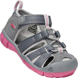 KEEN-toddlers-seacamp-ii-cnx-sandal-1020647_Steel Grey/Rapture Rose