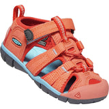 KEEN-toddlers-seacamp-ii-cnx-sandal-1022941_Coral/Poppy Red