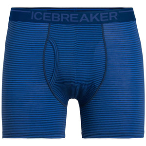 Men's Anatomica Boxers with Fly-Icebreaker-Estate Blue-M-Uncle Dan's, Rock/Creek, and Gearhead Outfitters