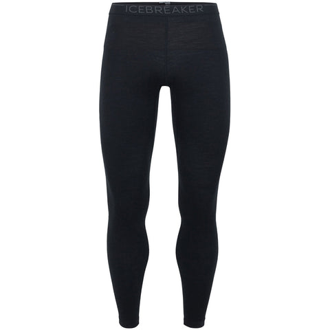 Men's Merino 200 Oasis Thermal Leggings-Icebreaker-Black-S-Uncle Dan's, Rock/Creek, and Gearhead Outfitters