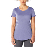 Icebreaker Women's Cool-Lite Sphere Short Sleeve Low Crewe-104680_Orchid Heather