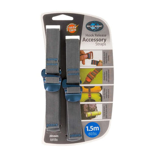 "20mm Accessory Straps with Hook Release 1.5M/60""-Sea to Summit-Uncle Dan's, Rock/Creek, and Gearhead Outfitters"