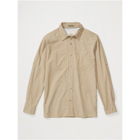 Men's BugsAway Tiburon Long-Sleeve Shirt-ExOfficio-Tawny-S-Uncle Dan's, Rock/Creek, and Gearhead Outfitters