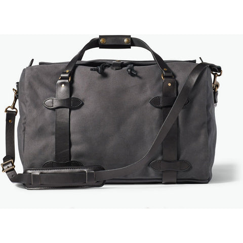Filson Medium Rugged Twill Duffle Bag-11070325_Cinder