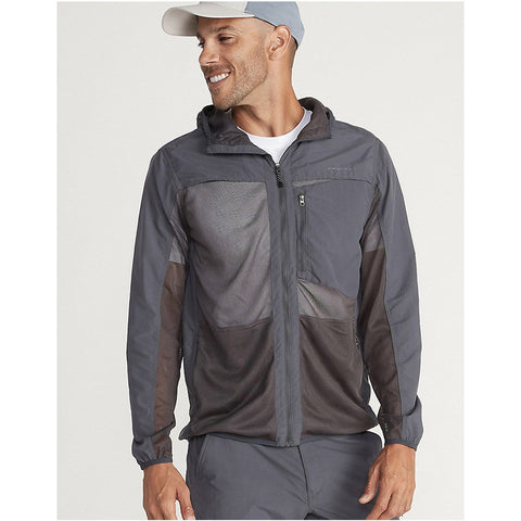 Men's BugsAway Sandfly Jacket-ExOfficio-Dark Steel-S-Uncle Dan's, Rock/Creek, and Gearhead Outfitters