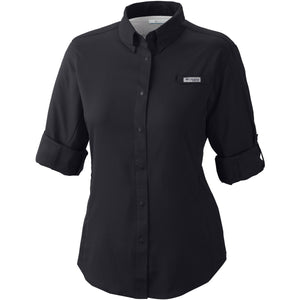 Women's Tamiami II Long Sleeve Shirt - Plus Size-1275702_Black