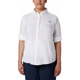 Women's Tamiami II Long Sleeve Shirt - Plus Size-1275702_White