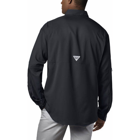 Men's PFG Tamiami II Long Sleeve Shirt-1286061_Black