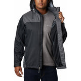 Men's Glennaker Lake Rain Jacket-1442361_Black, Grill