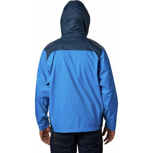 Men's Glennaker Lake Rain Jacket-1442361_Blue Jay, Columbia Navy