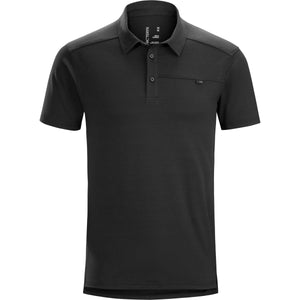 Men's Captive SS Polo-Arc'teryx-Black-L-Uncle Dan's, Rock/Creek, and Gearhead Outfitters