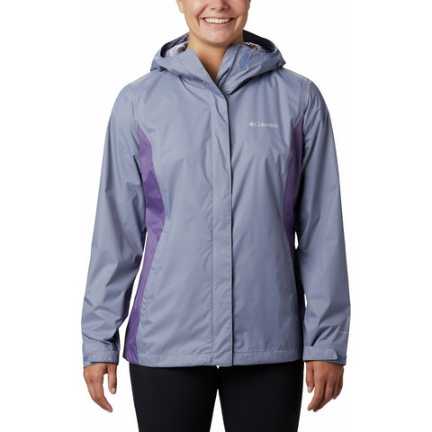 Women's Arcadia II Rain Jacket-1534111_New Moon, Plum Purple