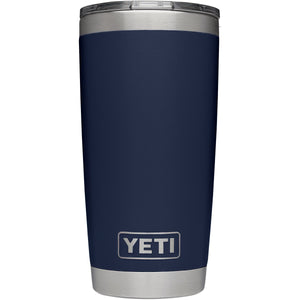Rambler 20 oz Tumbler with MagSlider Lid-Yeti-Navy-Uncle Dan's, Rock/Creek, and Gearhead Outfitters