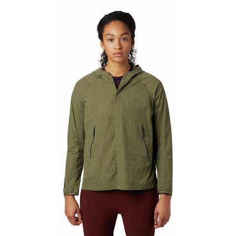 Women's Railay Hoody-Mountain Hardwear-Light Army-S-Uncle Dan's, Rock/Creek, and Gearhead Outfitters
