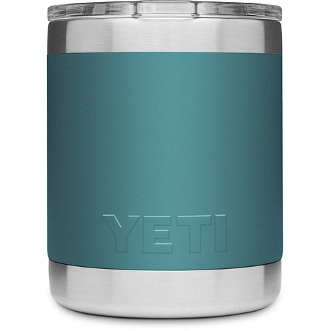 Rambler 10 oz Lowball with Standard Lid-Yeti-River Green-Uncle Dan's, Rock/Creek, and Gearhead Outfitters